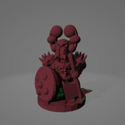 Surt Sworn Axe Ball Helmet.png Download STL file Surt-Sworn Axe Infantryman • 3D printer model, Ellie_Valkyrie