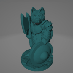 Canid Hatchetmaster.png Download STL file Canid Hatchetmaster • 3D printable design, Ellie_Valkyrie