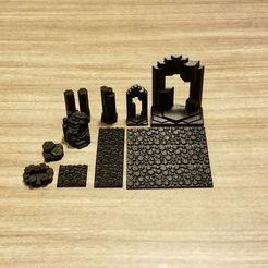 Volcanic_Terrain_1.jpg Télécharger fichier STL gratuit Caverne de basalte volcanique (compatible avec le Meepleverse) • Objet imprimable en 3D, Ellie_Valkyrie