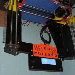 Download free 3D printer templates Caution Hot! Cable Management, YoYo_Crescendo