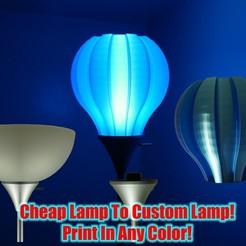 Descargar archivos 3D gratis Pantalla de la lámpara Cool Lamp, YoYo_Crescendo