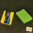 Télécharger fichier imprimante 3D 12 en 1 Cube de rangement pour cartouches de jeux Nintendo Switch et cartes MicroSD, Lablab