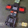 Télécharger fichier STL Cube de rangement pour cartes SD et MicroSD • Modèle imprimable en 3D, LabLabStudio