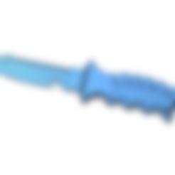 Knife.stl Télécharger fichier STL gratuit Couteau • Design imprimable en 3D, g4bbigo