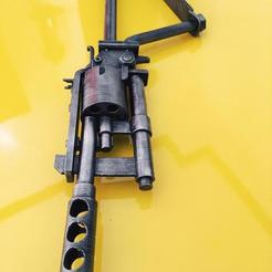 1.jpeg Télécharger fichier OBJ Fusil revolver à tube - FO4 • Modèle pour imprimante 3D, g4bbigo