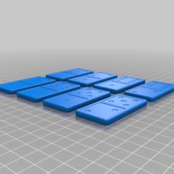 Domino_2.png Download free STL file Domino • Template to 3D print, g4bbigo