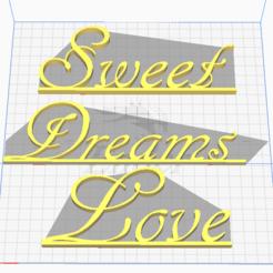 Descargar modelos 3D Dulces Sueños Amor, veltureyt