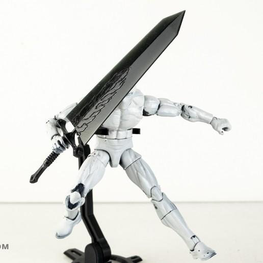 Download free STL file Black Clover: Demon Slayer Sword • 3D printing template, Designincase