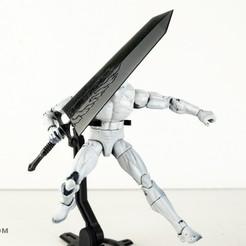 _DSC5059.jpg Download free STL file Black Clover: Demon Slayer Sword • 3D printing template, Designincase