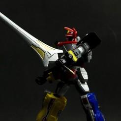 Download STL file Megazord Power Sword • 3D printer model, Designincase