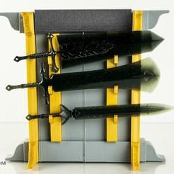 Download 3D printing designs Black Clover Demon Swords , Designincase