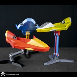 _DSC6092.jpg Télécharger fichier STL PRIS Galaxy Glider • Plan à imprimer en 3D, Designincase