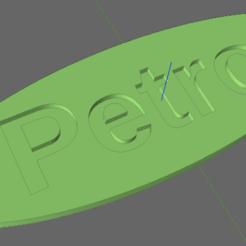 petrol.png Download STL file Fuel Tag - Petrol • 3D printer template, TheAussieGonz