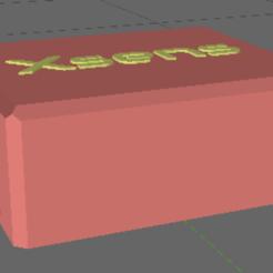 Sensor-case.png Download STL file Xsens-Compatible Wrist Case • Object to 3D print, TheAussieGonz