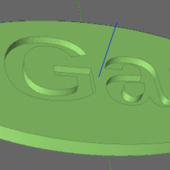 gas.png Download STL file Fuel Tag - Gas • Model to 3D print, TheAussieGonz
