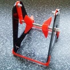 spool-lower2.jpg Télécharger fichier STL gratuit Kit d'abaissement des bobines Anet A8 A-Frame • Design à imprimer en 3D, TheAussieGonz