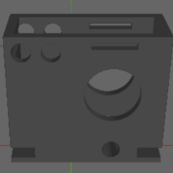 carrier2.png Download STL file Vertical Blind v28 Carrier Body • 3D printing object, TheAussieGonz