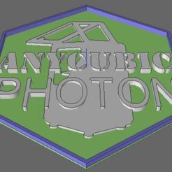 photonbadge.png Download STL file AnyCubic Photon Corporate Badge • 3D print model, TheAussieGonz