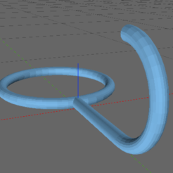 adapterhook.png Download free STL file Hook Downsizer • 3D printable object, TheAussieGonz