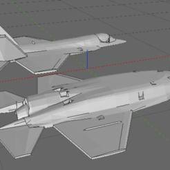 Descargar archivos 3D F35 Lightning II Joint Strike Fighter (JSF) - impresión fácil, TheAussieGonz