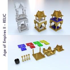 Sin título-1.jpg Download STL file Relic Age of Empires 2 • 3D print model, Tipitou