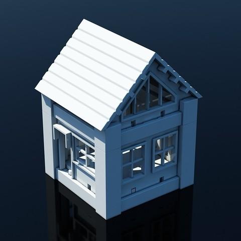 V01.jpg Download STL file Printable Architectural Kit 1 • 3D print design, ArchitectureKIT
