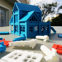 3D print files Printable Architectural Kit  2, ArchitectureKIT