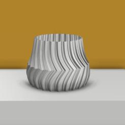 Descargar modelos 3D para imprimir Contra Vase, MNDLK