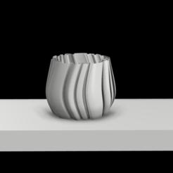 Descargar diseños 3D Wavy Planter, MNDLK