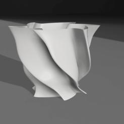Descargar archivos STL Lámpara Moderna 3D, MNDLK