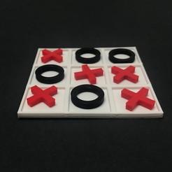 Download STL TIC TAC TOE ( THREE IN A ROW ), QBKO