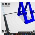 Download 3D printing templates Support for recording and charging the mobile, QBKO