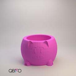 Productos cults.png Télécharger fichier STL pot à cochon • Modèle pour impression 3D, QBKO3D