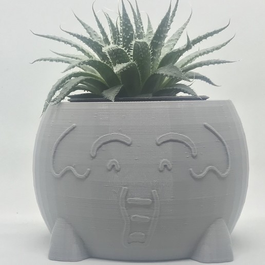 Impresiones 3D Macetero de elefante, QBKO