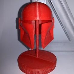 Imprimir en 3D El Timón Mandaloriano - Este es el camino, alanfsreis