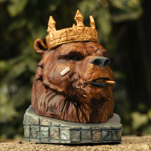 Télécharger fichier STL Le roi des ours, SADDEXdesign