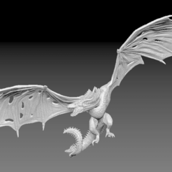 Descargar modelo 3D Viserion Dragon Game of Thrones, BisneExpress