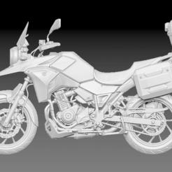 Download free 3D printing files Susuki V Storm 250, BisneExpress