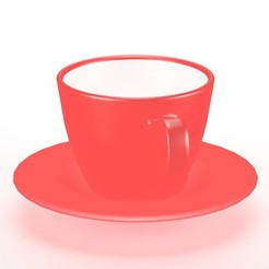 Download 3DS file Coffee Cup • 3D printing template, unmeshmk82