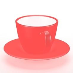Impresiones 3D Taza de café, unmeshmk82