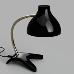 Télécharger fichier imprimante 3D Lampe de table imprimable 3D, Krithick10