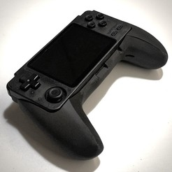Download 3D printer files RK 2020 PS5 Controller Back Shell Mod , davwilso