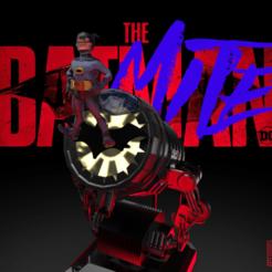 Batmite_render.3.png Télécharger fichier STL gratuit La batmite • Modèle à imprimer en 3D, Blascool