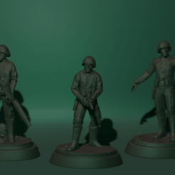 Download free STL file Soldiers rebels star wars • 3D printing object, Blascool