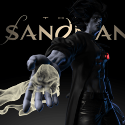untitled.31.png Download free STL file The Sandman • 3D printing design, Blascool