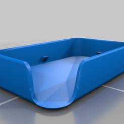 Télécharger fichier STL gratuit étui pour porte-saupe avec pente d'évacuation de l'eau • Objet pour impression 3D, guvenonru