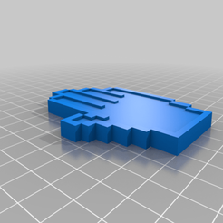 Download free STL file hand icon • 3D printable design, guvenonru