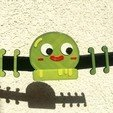 Download 3D printing designs Gumball Sara Mask Strap, ClawRobotics