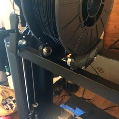 Download free 3D printer files Metal Plus Spool Holder, Sablebadger
