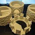Descargar archivos STL gratis Torre Medieval de Dados de Piedra - Modular, Sablebadger